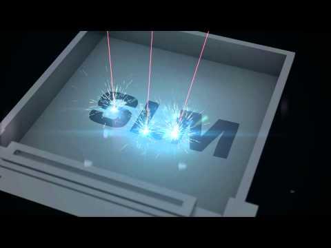 Dieses Video veranschaulicht den Vorgang des selektiven Laserschmelzens mit SLM Maschinen von den Anforderungen über den Druckvorgang bis hin zu den Resultaten.
