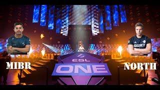 ESL One Cologne 2018: MIBR VS NORTH