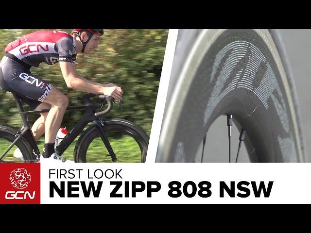 Видео Колесо переднее Zipp AMWH 808 NSW TL RB 700F QR CPG A1
