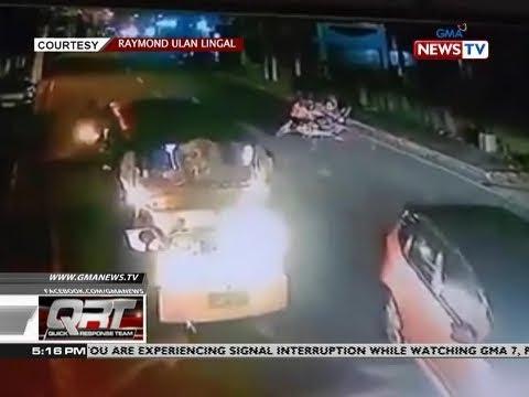 [GMA]  QRT: Rider, sumalpok sa nag-overtake na AUV
