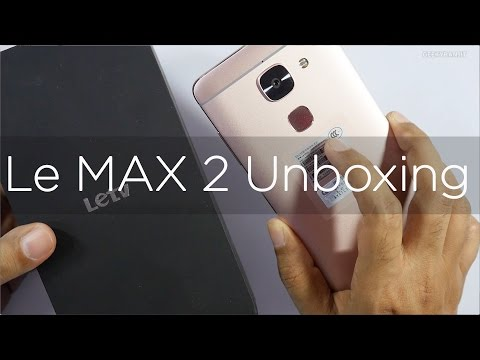 LeEco Le Max 2 (6GB RAM Model) Unboxing & Overview