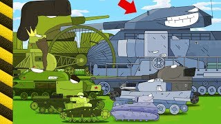 Dibujos tanquesde guerra. Carros infantiles  Coches monstruos dibujos animados. Tanques animados.