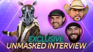 Rhino's First Interview Without The Mask   Season 3 Ep. 16   THE MASKED SINGER