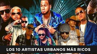Top 10 de Artistas Urbanos con más Ricos de República Dominicana | Conexión urbana
