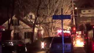 preview picture of video '002 April 3 2015 Fire scene Keene CopBlock'
