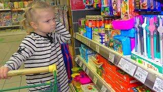 София покупает КАНЦЕЛЯРИЮ для БРАТА. Арсений не хочет идти в школу.