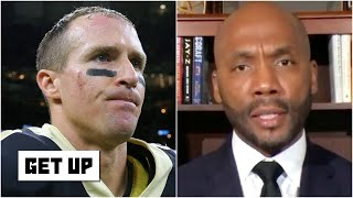 Get Up reacts to Drew Brees' comments about 'disrespecting the flag'