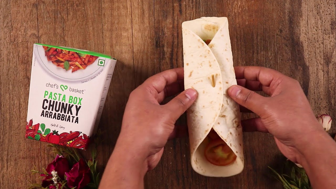 Creamy Tomato Wrap | Chef's Basket Youtube Video