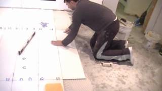 """Watch Me Install 48"""" Ceramic Tiles: Professional Tile Setter in Toronto"""