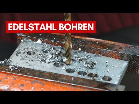Loch in rostfreien Edelstahl bohren | V2A, V4A, Inox & Co.