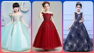 Most Stylish Kids Party Wear Evening Gowns Styles/flower Girls Dresses
