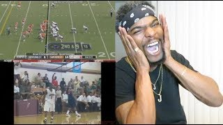 Most Unbelievable Plays in Sports History (Part 1) Reaction!! (This is amazing!!)