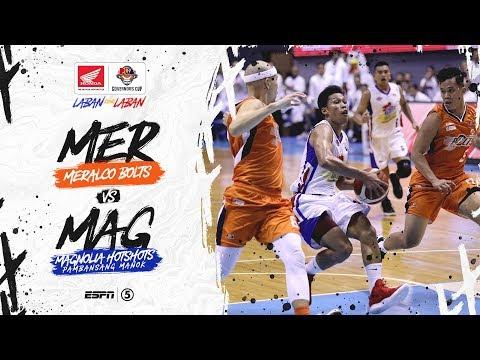 [Sport5]  Full Game: Meralco vs Magnolia   PBA Governors' Cup 2019