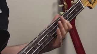 "Derek Ferwerda Lesson ""Sunday Papers"" - Joe Jackson Bass Groove"