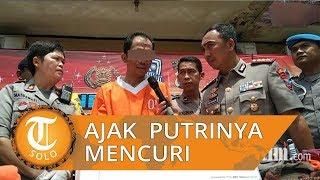 Seorang Ayah di Surabaya Ajak Anaknya Mencuri, Mengaku Pernah Lakukan 7 Kali Aksi