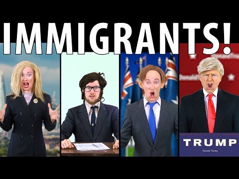 RAP NEWS | Immigrants!