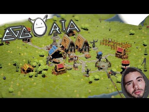 CONSTRUINDO UMA TRIBO NÔMADE - EGGORIA - (Gameplay/PC/PT-BR)