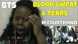 bts blood sweat and tears m countdown reaction - Free Online