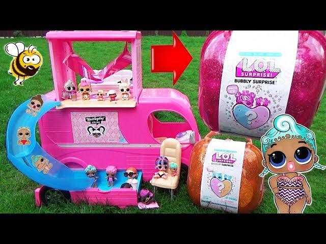 Ігровий набір з ляльками L.O.L. - СЕРЦЕ-СЮРПРИЗ (в рожевому кейсі)