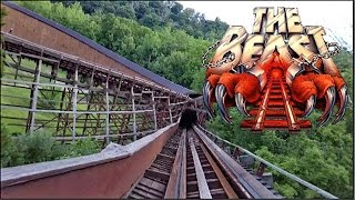 The Beast HD Front Seat On Ride POV & Review Huge Wooden Coaster Kings Island