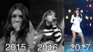 Somi's Evolution 2015-2017