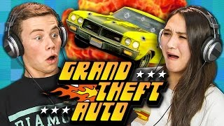 GRAND THEFT AUTO (Original PlayStation) (Teens React: Retro Gaming)