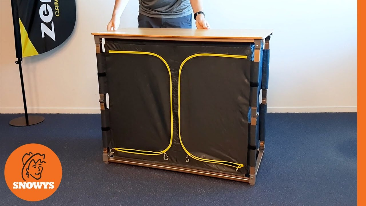 Eco Fold Twin V2 Camp Cupboard