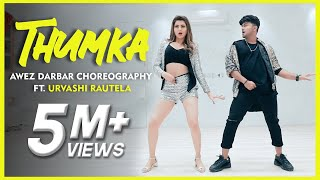 Thumka Awez Darbar Choreography Ft Urvashi Rautela