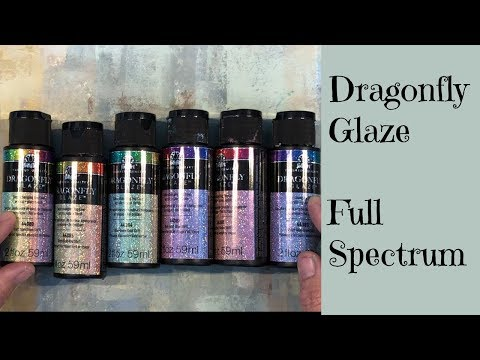 Disappointed With Full Spectrum Dragonfly Glaze? Here, Hold My Sparkle And Watch This Tip