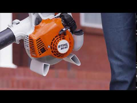 Stihl BG 50 in Purvis, Mississippi - Video 1