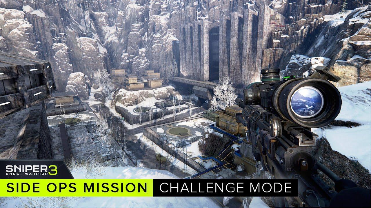 Sniper Ghost Warrior 3 - Side Ops Mission: Challenge Mode