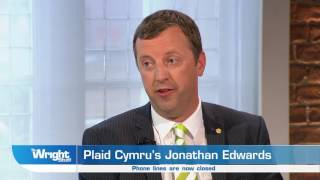 Plaid Cymrus Jonathan Edwards offers his solidarity to the people of Manchester