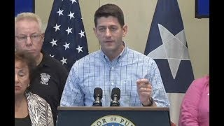 "Paul Ryan: Puerto Rico Needs Aid For ""The Long Haul"""