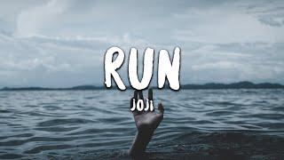Joji - Run (Lyrics) - YouTube