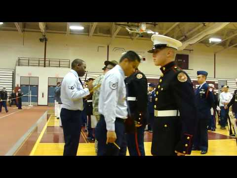 Gloucester High JROTC Competition Video ...