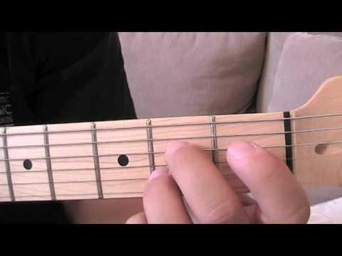 A7- Chord (ST09-01)/ Anfänger Gitarre