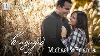 Beckman Mill Outdoor Fall Engagement Pictures By Peer Canvas Photographer Brianna And Michael