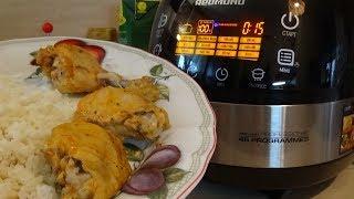 Как приготовить на пару курицу с рисом ? Вторые блюда в мультиварке