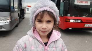Лаура едет в ЕВРОПУ!!! МЫ пересели в другой АВТОБУС!!!!