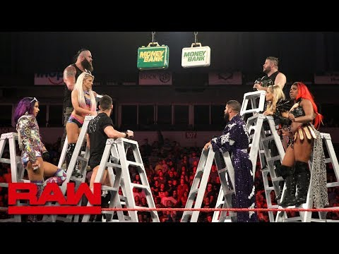 Download Raw's Money in the Bank Ladder Match competitors sound off: Raw, June 11, 2018 HD Mp4 3GP Video and MP3