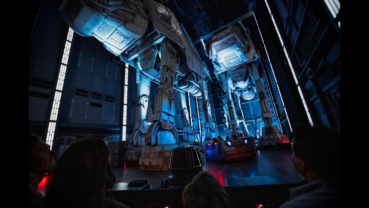 Star Wars: Rise of the Resistance queue, briefing rooms and on-ride