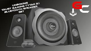 Trust Gaming GXT 38BT Tytan 2.1 Speaker Set mit Bluetooth - Unboxing HD [GER]