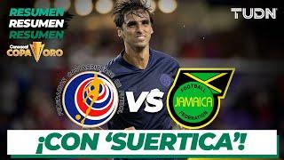 Resumen y goles | Costa Rica vs Jamaica | Copa Oro 2021 | Grupo C | TUDN