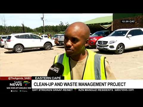 Waste management clean-up projects kick off in the Eastern Cape