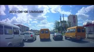 Аварии на дорогах, приколы на дороге 2018 10