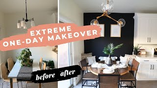 EXTREME One-Day Breakfast Nook Makeover
