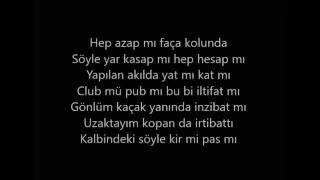Eypio & Burak King - Günah Benim - SÖZLERİ HD-   (Lyrics Video)