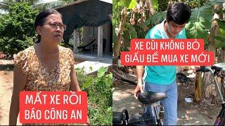 Khương Dừa giấu chiếc xe đạp điện cùi của mẹ, bị mẹ báo công an?