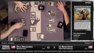 Pro Tour Magic 2015 - Round 8 (Standard) - Reid Duke vs. Kyle Boggemes