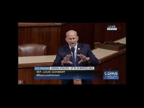 Gohmert Speaks on the House Floor after Senate Obamacare Repeal Fail